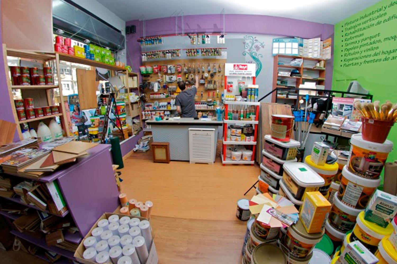 Tienda de pintura decoraci n en madrid decopinturas for Decoracion de pintura