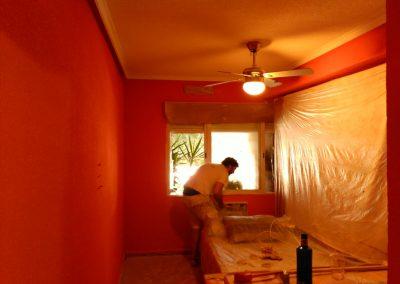 Pintor de Decopinturas  en habitación