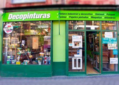 fachada-tienda-de-pintura-y-decoración-decopinturas